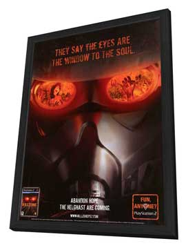 KillZone - 11 x 17 Video Game Poster - Style A - in Deluxe Wood Frame
