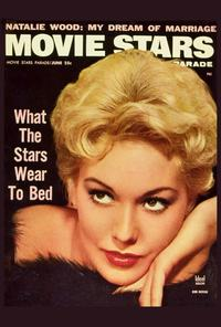 Kim Novak - 27 x 40 Movie Poster - Movie Stars Parade Magazine Cover 1950's