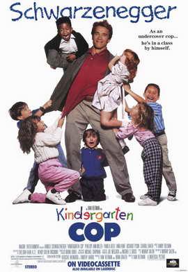 Kindergarten Cop - 11 x 17 Movie Poster - Style B