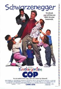 Kindergarten Cop - 43 x 62 Movie Poster - Bus Shelter Style A