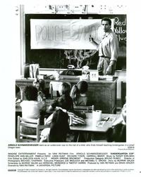 Kindergarten Cop - 8 x 10 B&W Photo #10