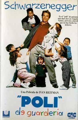 Kindergarten Cop - 11 x 17 Movie Poster - Spanish Style A