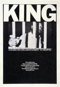 King: A Filmed Record... Montgomery to Memphis - 43 x 62 Movie Poster - Bus Shelter Style A