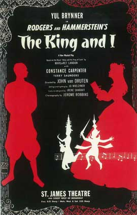 King And I, The (Broadway) - 14 x 22 Poster - Style A
