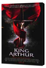 King Arthur - 11 x 17 Movie Poster - Style A - Museum Wrapped Canvas