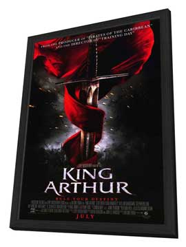 King Arthur - 11 x 17 Movie Poster - Style A - in Deluxe Wood Frame