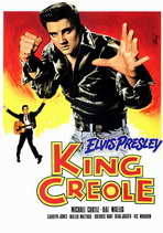 King Creole - 11 x 17 Poster - Foreign - Style A