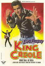 King Creole - 27 x 40 Movie Poster - French Style A
