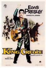 King Creole - 11 x 17 Movie Poster - Style E
