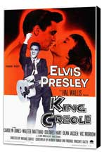 King Creole - 11 x 17 Movie Poster - Style A - Museum Wrapped Canvas