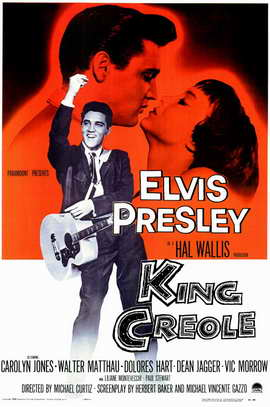 King Creole - 11 x 17 Movie Poster - Style A