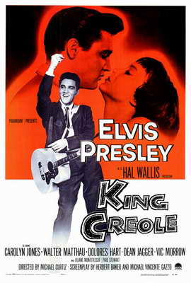 King Creole - 27 x 40 Movie Poster - Style A