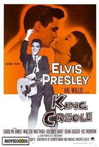 King Creole - 43 x 62 Movie Poster - Bus Shelter Style A
