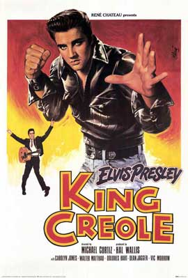 King Creole - 11 x 17 Movie Poster - French Style A