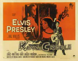 King Creole - 22 x 28 Movie Poster - Half Sheet Style A