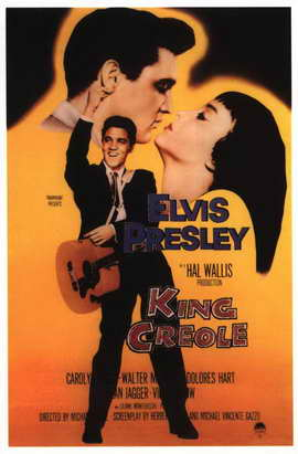 King Creole - 11 x 17 Movie Poster - Style D