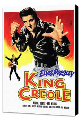 King Creole - 11 x 17 Poster - Foreign - Style A - Museum Wrapped Canvas