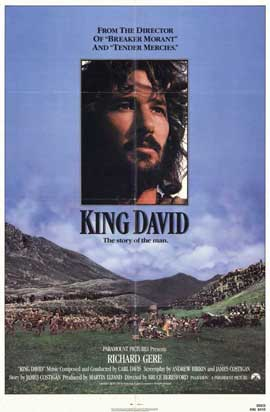 King David - 11 x 17 Movie Poster - Style A