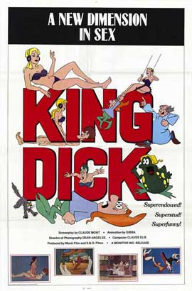 King Dick (adult) - 11 x 17 Movie Poster - Style A