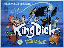 King Dick (adult) - 11 x 17 Movie Poster - UK Style A