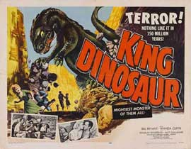 King Dinosaur - 22 x 28 Movie Poster - Half Sheet Style A