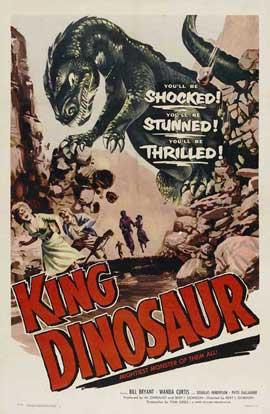 King Dinosaur - 11 x 17 Movie Poster - Style A