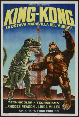 King Kong Escapes - 11 x 17 Movie Poster - Style A