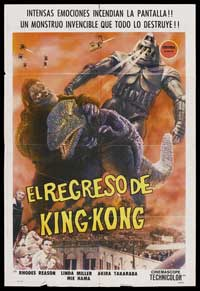 King Kong Escapes - 11 x 17 Poster Australian Style B