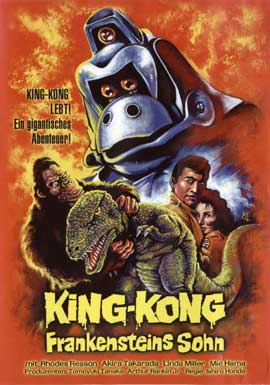 King Kong Escapes - 11 x 17 Movie Poster - German Style A