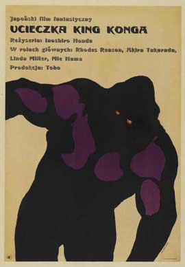 King Kong Escapes - 11 x 17 Movie Poster - Polish Style A