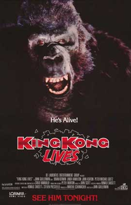 King Kong Lives - 11 x 17 Movie Poster - Style A