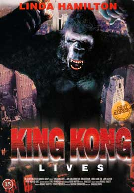 King Kong Lives - 27 x 40 Movie Poster - Style C