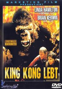 King Kong Lives - 27 x 40 Movie Poster - German Style A