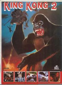 King Kong Lives - 11 x 17 Movie Poster - Spanish Style A