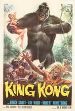 King Kong - 27 x 40 Movie Poster - Style B