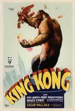 King Kong - 27 x 40 Movie Poster - Style D