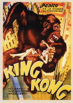 King Kong - 27 x 40 Movie Poster - Spanish Style A