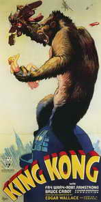 King Kong - 20 x 40 Movie Poster - Style A