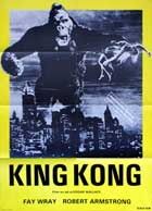 King Kong - 27 x 40 Movie Poster - Danish Style A