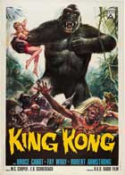King Kong - 27 x 40 Movie Poster - Italian Style A