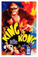 King Kong - Movie Poster - Reproduction - 27 x 40 - Style A