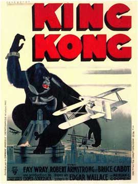 King Kong - 11 x 17 Poster - Foreign - Style B