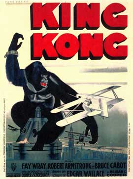 King Kong - 11 x 17 Movie Poster - Style C