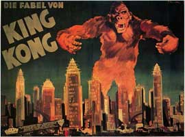 King Kong - 11 x 17 Poster - Foreign - Style D