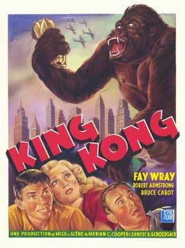 King Kong - 11 x 17 Movie Poster - Style G