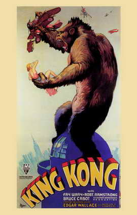 King Kong - 11 x 17 Movie Poster - Style I