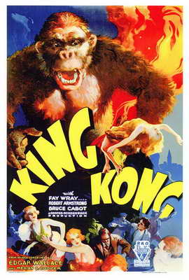King Kong - 27 x 40 Movie Poster - Style A