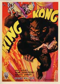 King Kong - 43 x 62 Movie Poster - Bus Shelter Style C