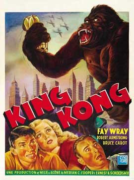 King Kong - 11 x 17 Movie Poster - Belgian Style B