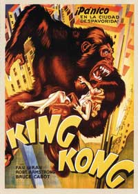 King Kong - 11 x 17 Movie Poster - Spanish Style A